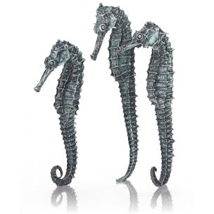 biOrb mořský koník, 3 kusy, metalická černá